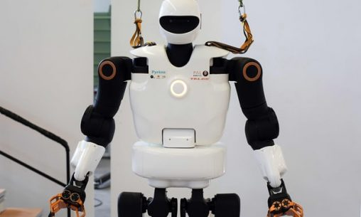 Programming challenge: morality should be built into the core of a robot. Photograph: Remy Gabalda/AFP/Getty Images